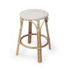 This item: Tobias Beige 16-Inch Round Counter Stool