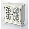 This item: Masterpiece Lansing Off White Two-Door Accent Cabinet