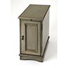 This item: Harling Silver Satin End Table