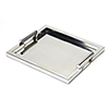 This item: Butler Morante Stainless Steel Rectangular Serving Tray