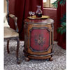 This item: Artists Originals Red Hand Painted Drum Table
