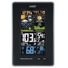 This item: Black Vertical Wireless Color Weather Station