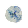 This item: Aqua and Blue Gray 12-Inch Wall Plate