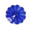 This item: Pinwheel Cobalt Blue 12-Inch Wall Plate