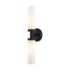 This item: Aero Black Two-Light ADA Wall Sconce