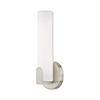 This item: Lund Brushed Nickel 4-Inch ADA Wall Sconce with Satin White Acrylic Shade