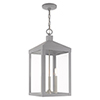 This item: Nyack Nordic Gray 11-Inch Three-Light Pendant Lantern