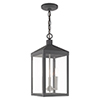 This item: Nyack Scandinavian Gray Eight-Inch Three-Light Pendant Lantern