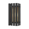 This item: Greenwich Black and Satin Brass 13-Inch One-Light Outdoor Wall Lantern