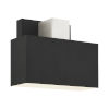 This item: Lynx Black One-Light Outdoor ADA Wall Sconce