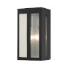 This item: Lafayette Black Five-Inch One-Light Outdoor ADA Wall Sconce