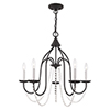 This item: Alessia Black 24-Inch Five-Light Chandelier