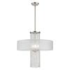 This item: Bella Vista Brushed Nickel Four-Light Chandelier