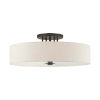 This item: Meridian English Bronze 30-Inch Six-Light Semi-Flush Mount