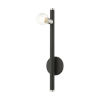 This item: Bannister Black One-Light Wall Sconce