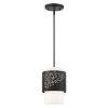 This item: Noria Black One-Light Mini Pendant
