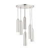 This item: Ardmore Brushed Nickel Six-Light Pendant
