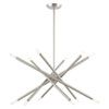 This item: Soho Brushed Nickel 12-Light Chandelier