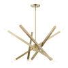 This item: Monaco Antique Brass 10-Light Chandelier