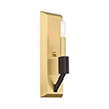 This item: Beckett Satin Brass and Bronze Wall Sconce