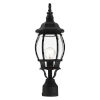 This item: Frontenac Textured Black One-Light Outdoor Post Lantern