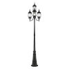 This item: Frontenac Textured Black 24-Inch Four-Light Outdoor Post Lantern