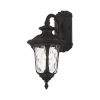 This item: Oxford Textured Black Seven-Inch One-Light Outdoor Down Light Wall Lantern