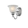 This item: Essex Chrome 6.5-Inch One-Light Bath Light