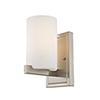 This item: Astoria Brushed Nickel 5-Inch One-Light Bath Light