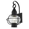 This item: Newburyport Black One-Light 12-Inch Wall Lantern