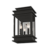 This item: Princeton Black Two-Light 15-Inch Wall Lantern