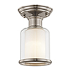 This item: Middlebush Brushed Nickel One-Light 5.5-Inch Ceiling Mount