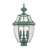 This item: Monterey Verdigris Three-Light Outdoor Fixture