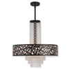 This item: Allendale Bronze 22-Inch Five-Light Chandelier