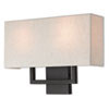 This item: Pierson Bronze 16-Inch Two-Light Wall Sconce