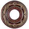 This item: Verona Bronze with Aged Gold Leaf Accents 12-Inch Ceiling Medallion