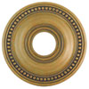 This item: Wingate Hand Painted Antique Gold Leaf 16-Inch Ceiling Medallion