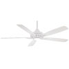 This item: Dyno XL White 60-Inch Smart Ceiling Fan