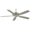 This item: Watt Brushed Nickel 52-Inch Ceiling Fan