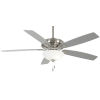 This item: Watt II Brushed Nickel 60-Inch LED Ceiling Fan