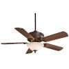This item: Bolo Oil Rubbed Bronze 52-Inch Three-Light LED Ceiling Fan