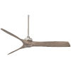 This item: Aviation Brushed Nickel And Ash Maple 60-Inch Ceiling Fan