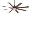 This item: Slipstream Oil Rubbed Bronze 65-Inch Ceiling Fan