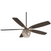This item: Bling Oil Rubbed Bronze 56-Inch Three-Light Led Ceiling Fan
