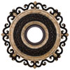 This item: Napoli Sterling Walnut Ceiling Medallion