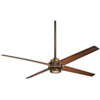 This item: Spectre Oil Rubbed Bronze 60-Inch Ceiling Fan with Tobacco Blades
