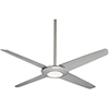 This item: Pancake XL Silver 62-Inch LED Ceiling Fan