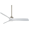 This item: Aviation Brushed Nickel and White 60-Inch LED Ceiling Fan