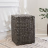 This item: Valeria Gray 19-Inch Laundry Hamper with Attached Lid