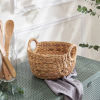 This item: Ellie Sandy Picnic and Grocery Kitchen Organizing Basket Set with Handles, Set of 2